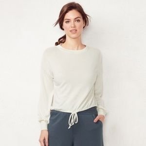 NWT LC Lauren Conrad crop sweater